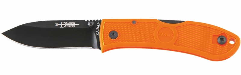 KA-BAR/Dozier Folding Hunter (blazing orange)